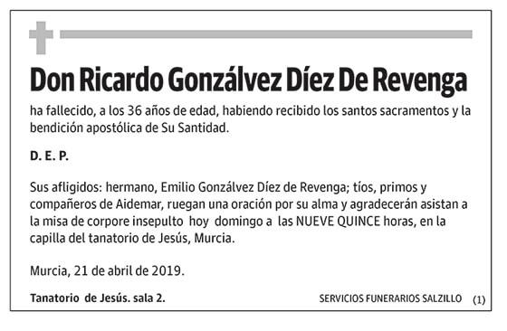 Ricardo Gonzálvez Díez De Revenga