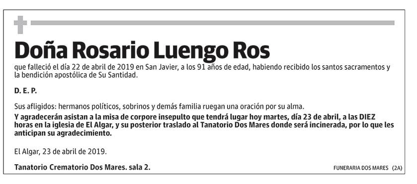 Rosario Luiengo Ros