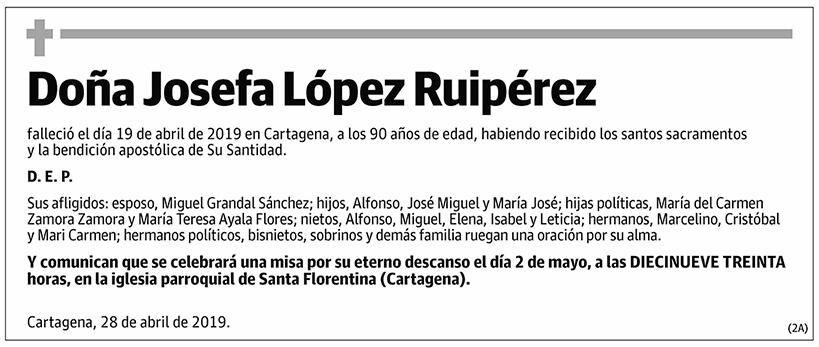 Josefa López Ruipérez