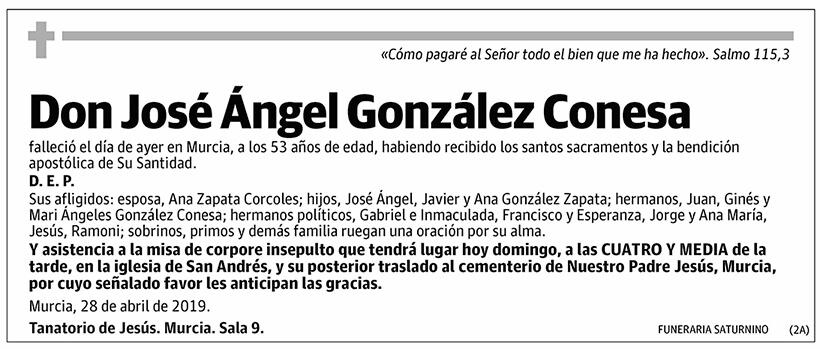 José Ángel González Conesa
