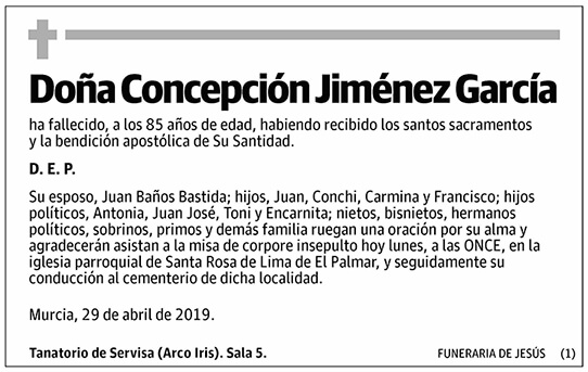 Concepción Jiménez García