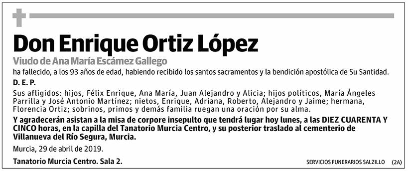 Enrique Ortiz López