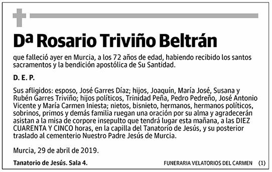 Rosario Triviño Beltrán