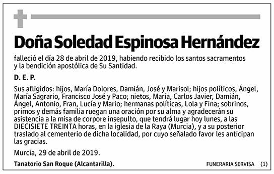 Soledad Espinosa Hernández