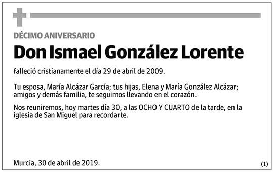 Ismael González Lorente