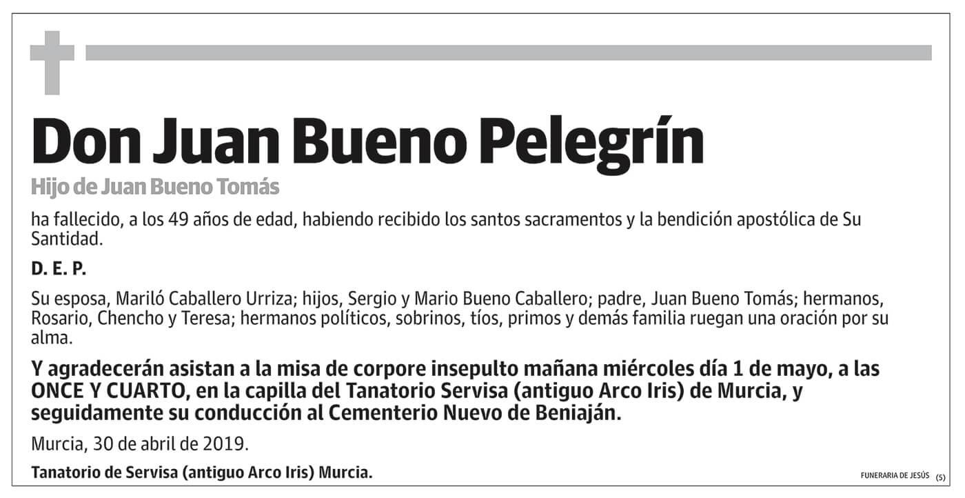 Juan Bueno Pelegrín