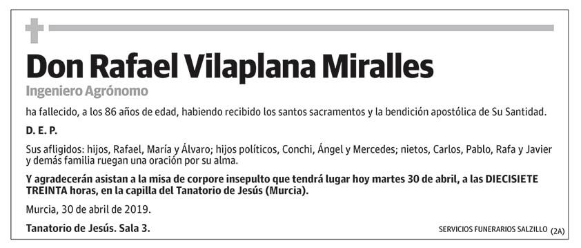 Rafael Vilaplana Miralles
