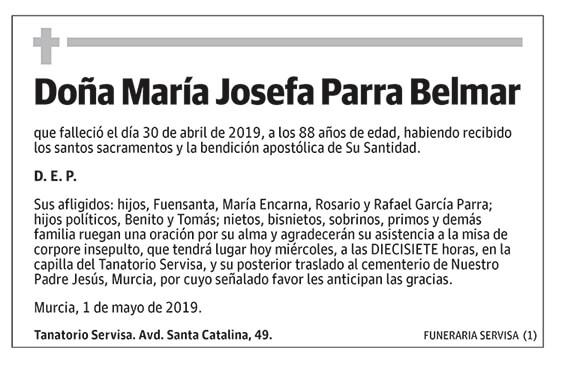 María Josefa Parra Belmar