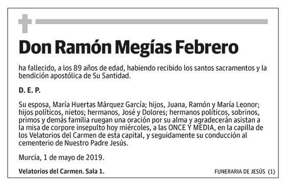 Ramón Megías Febrero
