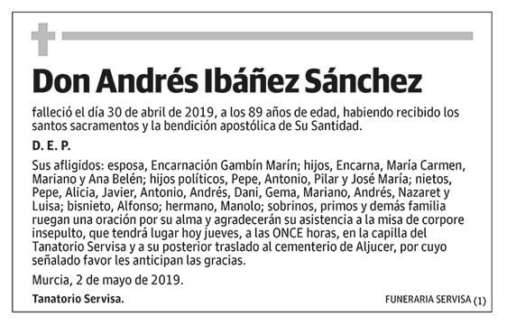 Andrés Ibáñez Sánchez