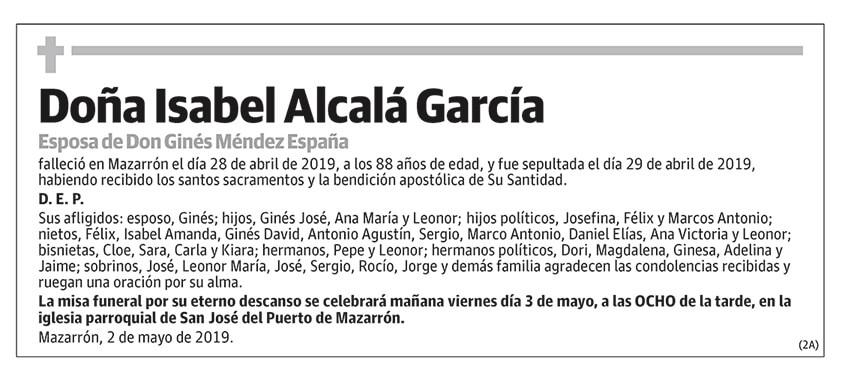Isabel Alcalá García