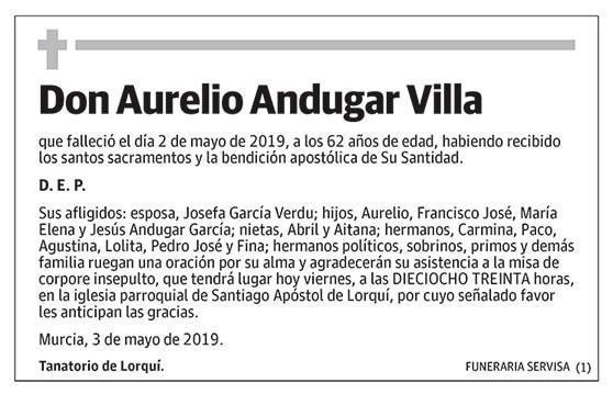 Aurelio Andugar Villa