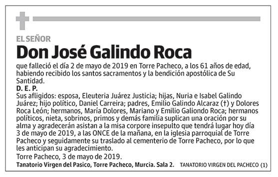 José Galindo Roca