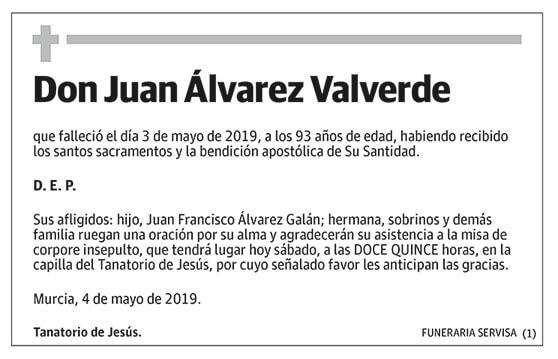 Juan Álvarez Valverde
