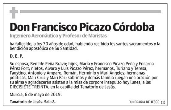 Francisco Picazo Córdoba
