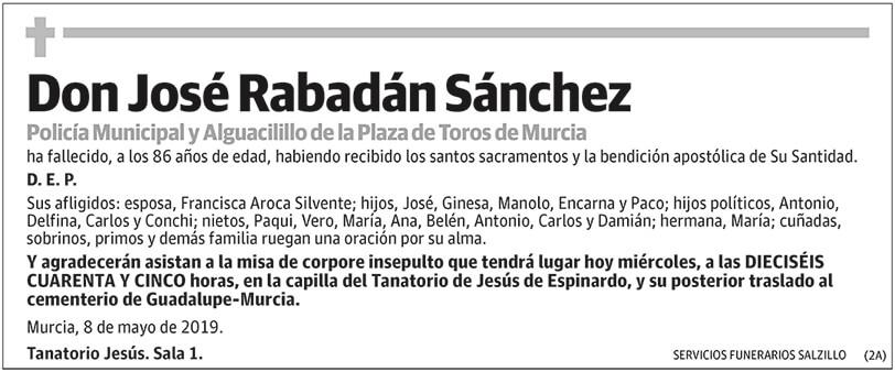 José Rabadán Sánchez