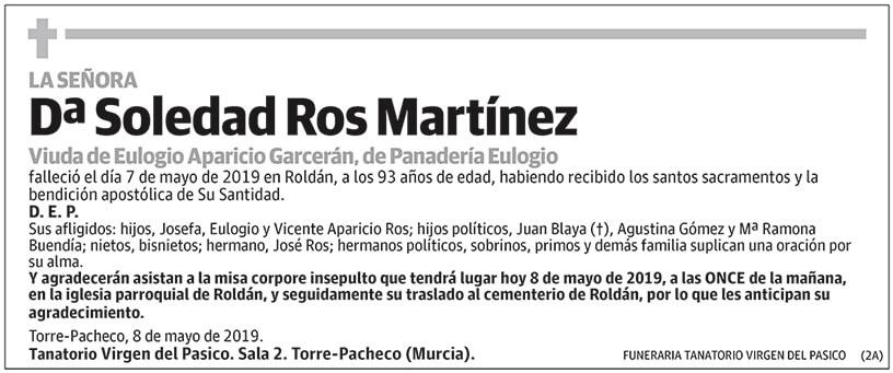 Soledad Ros Martínez