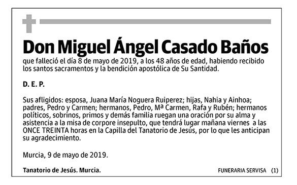 Miguel Ángel Casado Baños