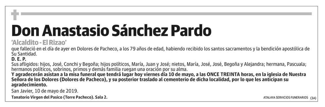 Anastasio Sánchez Pardo