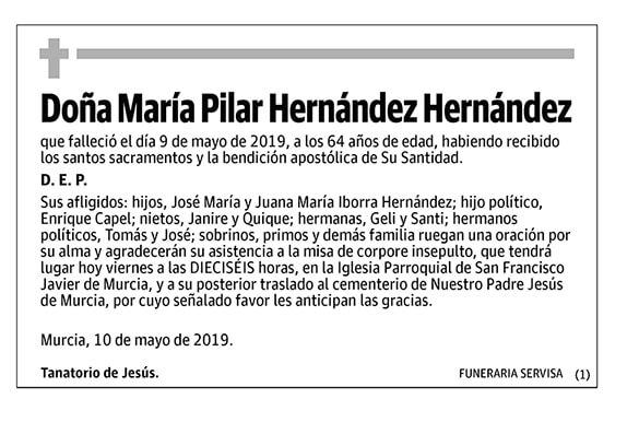 María Pilar Hernández Hernández