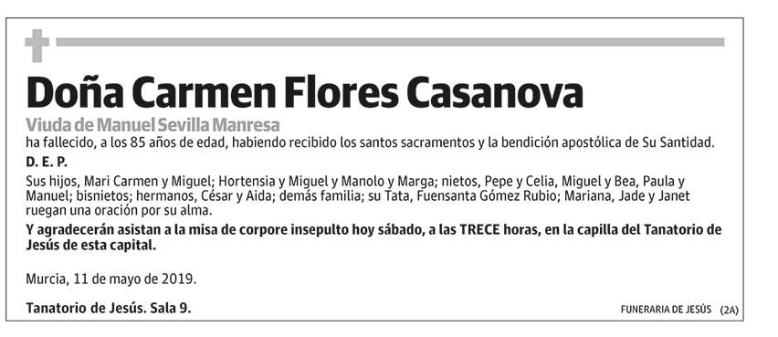 Carmen Flores Casanova
