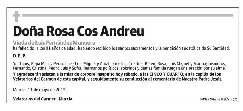 Rosa Cos Andreu