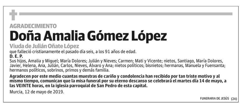 Amalia Gómez López