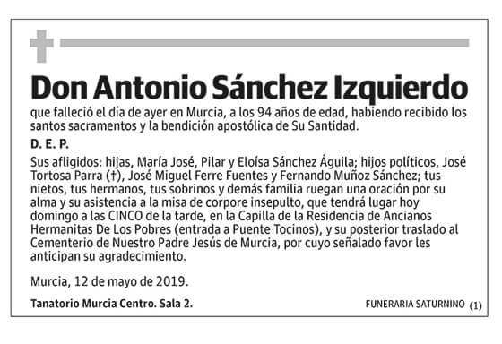 Antonio Sánchez Izquierdo