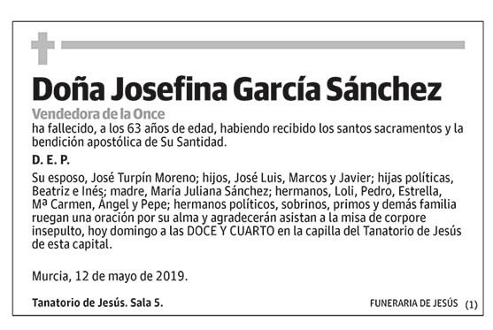 Josefina García Sánchez