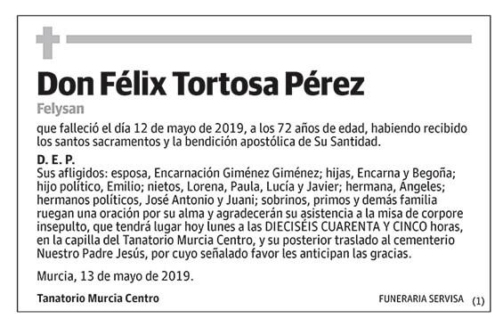 Félix Tortosa Pérez