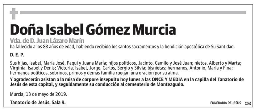 Isabel Gómez Murcia