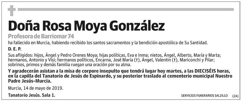 Rosa Moya González