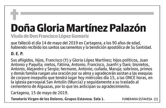 Gloria Martínez Palazón