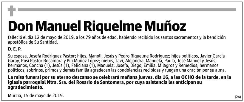 Manuel Riquelme Muñoz