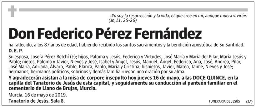 Federico Pérez Fernández