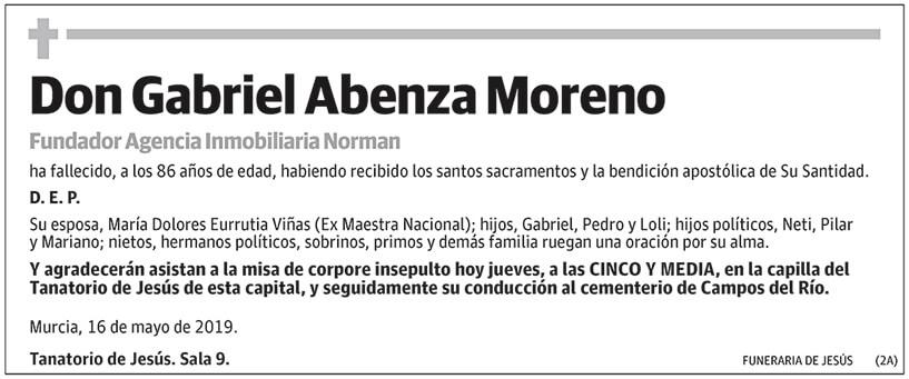Gabriel Abenza Moreno