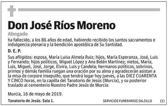 José Ríos Moreno