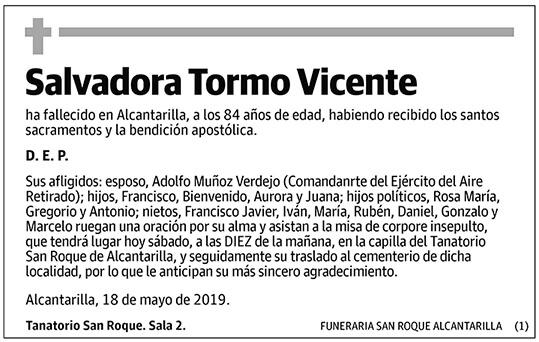 Salvadora Tormo Vicente