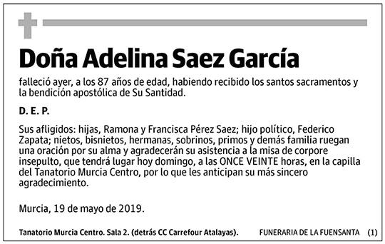 Adelina Saez García