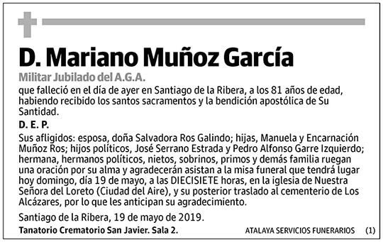 Mariano Muñoz García