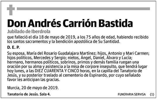 Andrés Carrión Bastida