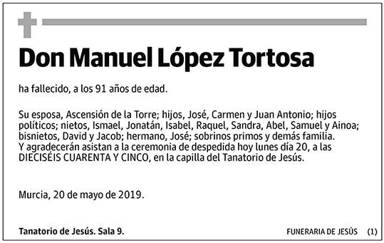Manuel López Tortosa