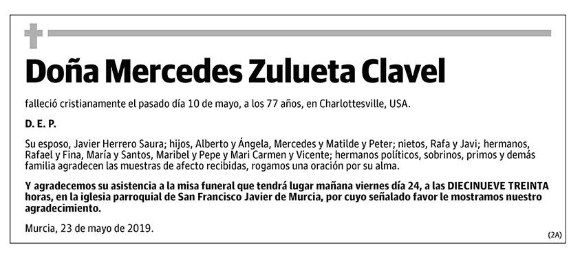 Mercedes Zulueta Clavel